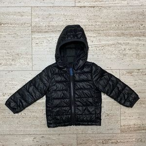 Primary Puffer Jacket. Size 12-18 months